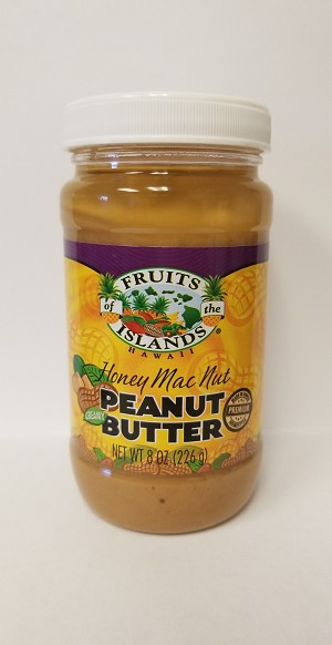 Fruits of the Islands Honey Macnut Peanut Butter