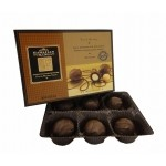 Milk Chocolate Whole Macadamia Nuts 6pc