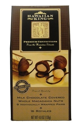 Milk Chocolate Whole Macadamia Nuts 8 Individually Wrapped 2pc