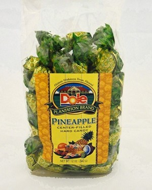 Dole Pineapple Center-Filled Hard Candy