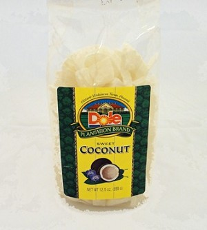 Dole Sweet Coconut Slices