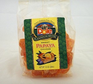Dole Sweet Papaya Chunks