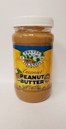 Fruits of the Islands Coconut Peanut Butter