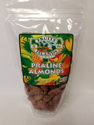 Fruits of the Islands Praline Almonds