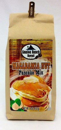 Kualoa Ranch Mac Nut Pancake Mix