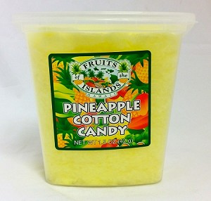 Fruits of the Islands Pineapple Cotton Candy